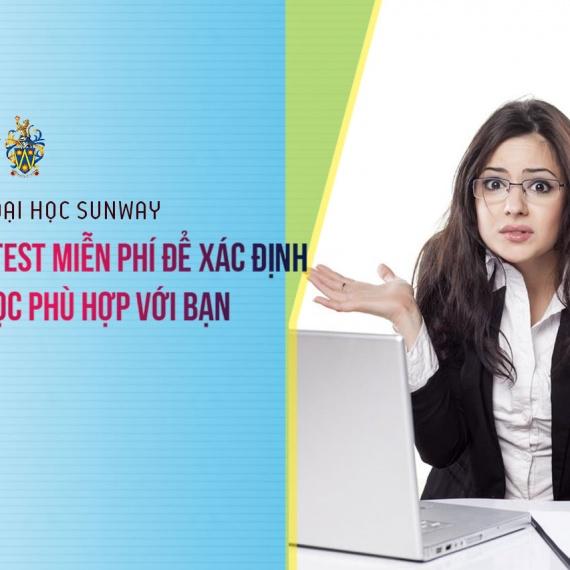 Hội thảo ĐH Sunway Malaysia: Lựa chọn ngành phù hợp qua bài test miễn phí