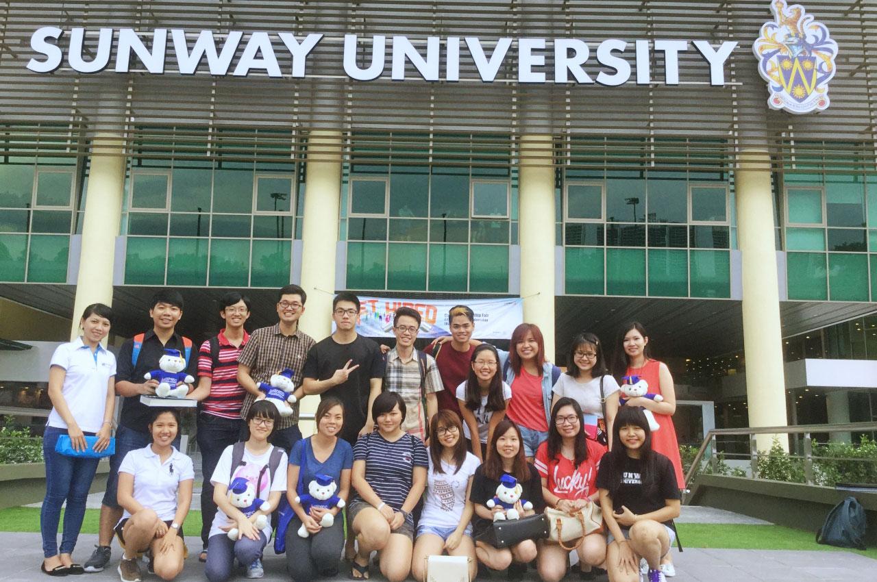 du-hoc-malaysia-hoc-sinh-sunway-inec du học Malaysia