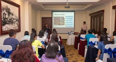Hội thảo Sunway 15/05: Trải nghiệm phương pháp thuyết trình và workshop tiếng Anh mới lạ