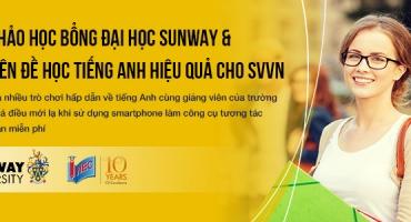 Miễn phí tham dự workshop về tiếng Anh cùng đại diện trường Sunway