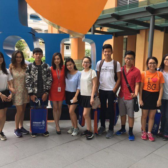 Giao lưu trực tiếp cùng đại diện Đại học Sunway Malaysia tháng 9/2017
