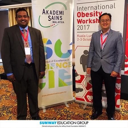 Các nhà nghiên cứu Sunway tại Hội thảo Bệnh béo phì Quốc tế 2017