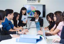 Sinh viên du học Malaysia tại đại học Sunway